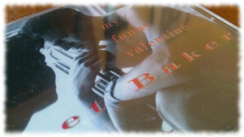 Ausschnitt CD-Cover May Funny Valentine von Chet Baker