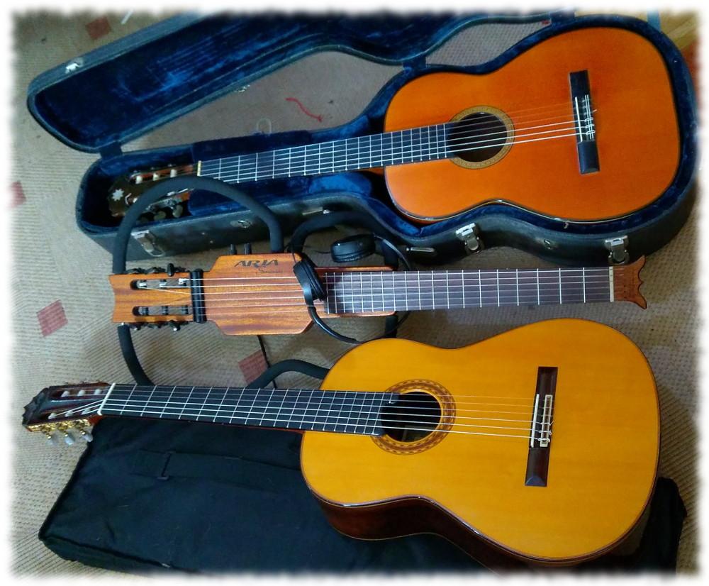 Meine Konzertgitarrensammlung