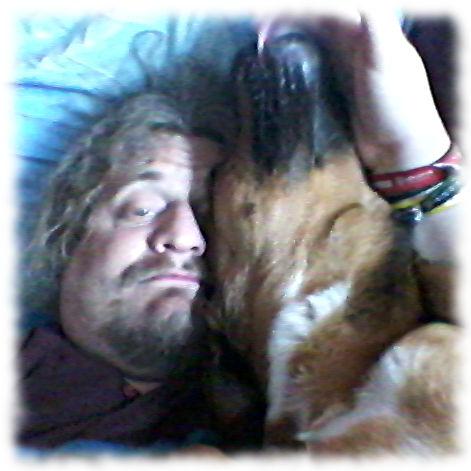 Werde von Teilzeithund Bruno geweckt.