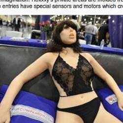 Sexpuppe / Sexroboter weiblich.