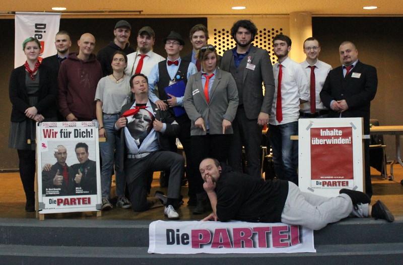 Die Teilnehmer des 2. KreisPARTEItages des Kreisverband Rhein-Sieg